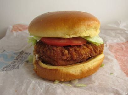 Image result for Burger King Crispy Chicken Sandwich